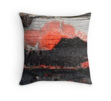 Volcano ErupTion sinks Luxury Liner Throw Pillow
