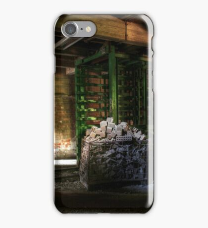 12.6.2015: Cage Filled with Bricks iPhone Case/Skin