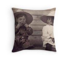 The Harmonica Throw Pillow