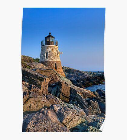 Castle Hill Lighthouse -Rhode Island Poster