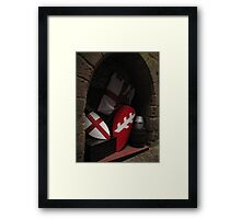 Medieval collections Framed Print