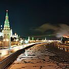Kremlin by Gouzelka