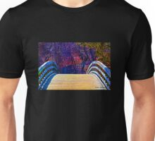 First Day of Spring on a Bridge Unisex T-Shirt