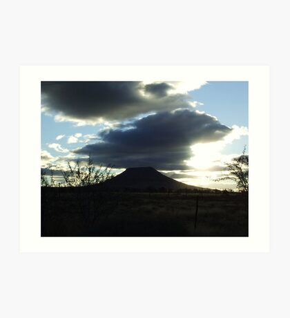 Wannabe, Volcano... Art Print