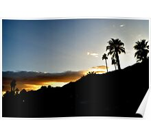 Palm Springs Sunset Poster