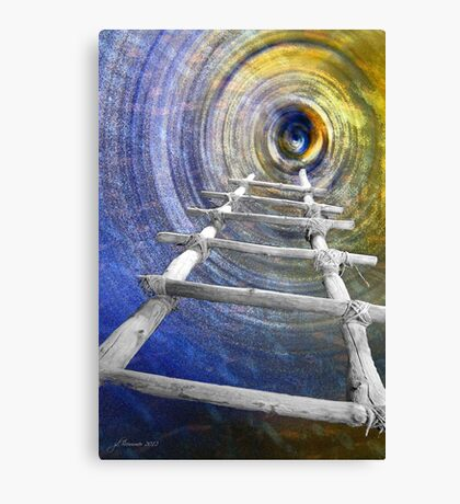 Follow in the Footsteps Canvas Print