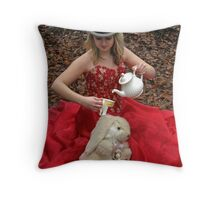 She Lives in a Fairytale 07 Throw Pillow