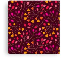 Floral seamless pattern. Flowers Canvas Print