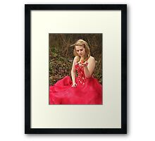 She Lives in a Fairytale 09 Framed Print