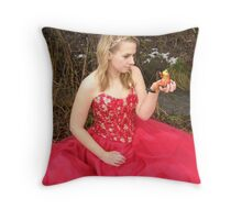 She Lives in a Fairytale 10 Throw Pillow