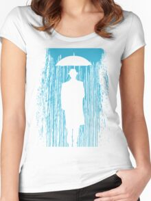 Downpour Women's Fitted Scoop T-Shirt