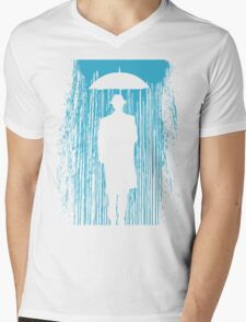 Downpour Mens V-Neck T-Shirt