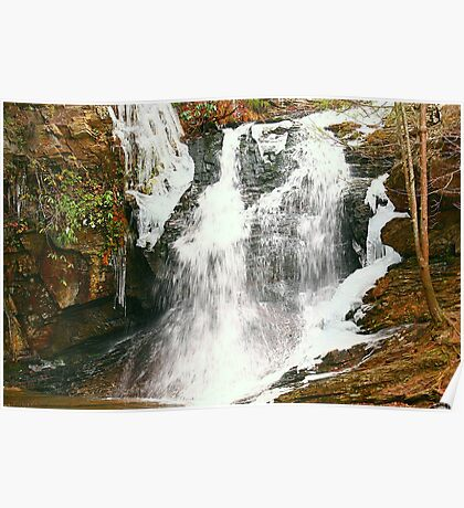 Hanging Rock Lower Cascade Waterfall Poster