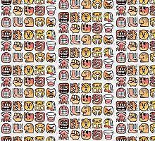 Hieroglyphs by Rob Bryant