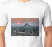 sunrise over Bagan Unisex T-Shirt