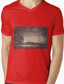 When The Wind Blows Mens V-Neck T-Shirt