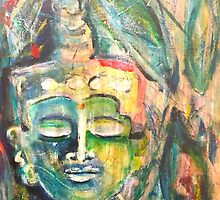 Sweet Buddha by Marti   Schmidt