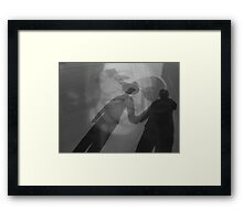 I Love Him Framed Print