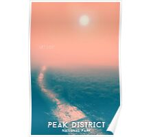 Peak District - Get Lost Travel Poster Print Poster