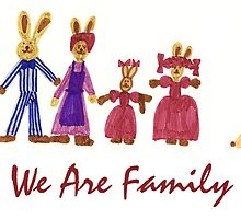 Easter Bunny Family by Klaus Offermann