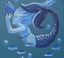 Blue Mermaid by studiololo