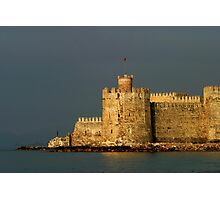 Mamure Castle in Anamur Photographic Print