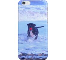 staffy in the sea iPhone Case/Skin