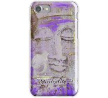 VIOLET BUDDHA #7 iPhone Case/Skin