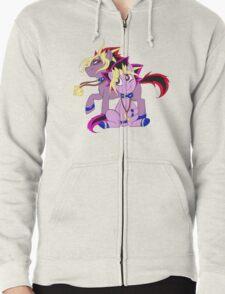 My Little Pony Yu-Gi-Oh! Zipped Hoodie