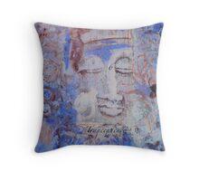 Indigo Blue Buddha #6 Throw Pillow