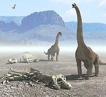 Dinosaurs by 3dzver