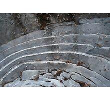 frozen ripples  Photographic Print