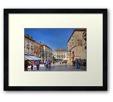 Narodni Trg Framed Print