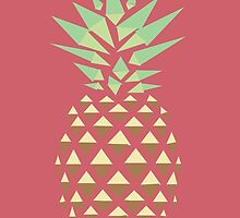 Minimalist Pineapple by MissCellaneous