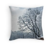 The Wall & The Tree Throw Pillow