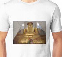 cramped Buddha statue in MA-NU-HA TEMPLE Unisex T-Shirt