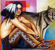 Free Spirit of The Wolf by gcrisostomo