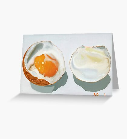 Boiled Egg! by BundyArt Greeting Card