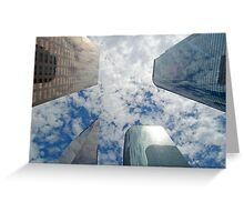 Los Angeles Skyscraper 3 Greeting Card