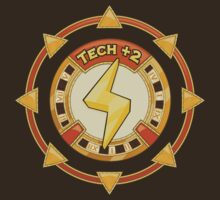 Power UP Shirt: Tech +2 by pixelpatch