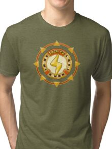 Power UP Shirt: Tech +2 Tri-blend T-Shirt