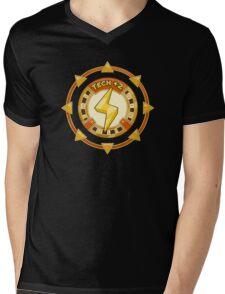 Power UP Shirt: Tech +2 Mens V-Neck T-Shirt