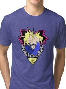 WYugi puzzleshipping Yu-Gi-Oh! Tri-blend T-Shirt