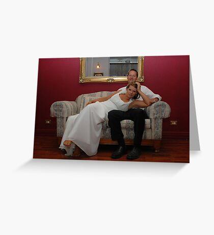 Wedding Couple Greeting Card