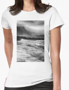 STORMY SHORE Womens Fitted T-Shirt