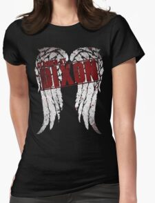 dixon claimed Womens Fitted T-Shirt