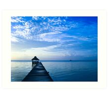Belize Sunrise Art Print