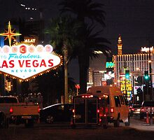 Welcome to Las Vegas by Rob  Holcomb