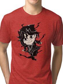 Yugi Muto Black Aibo Wicked avatar Yu-Gi-Oh! R Tri-blend T-Shirt