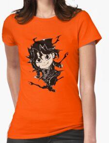 Yugi Muto Black Aibo Wicked avatar Yu-Gi-Oh! R Womens Fitted T-Shirt